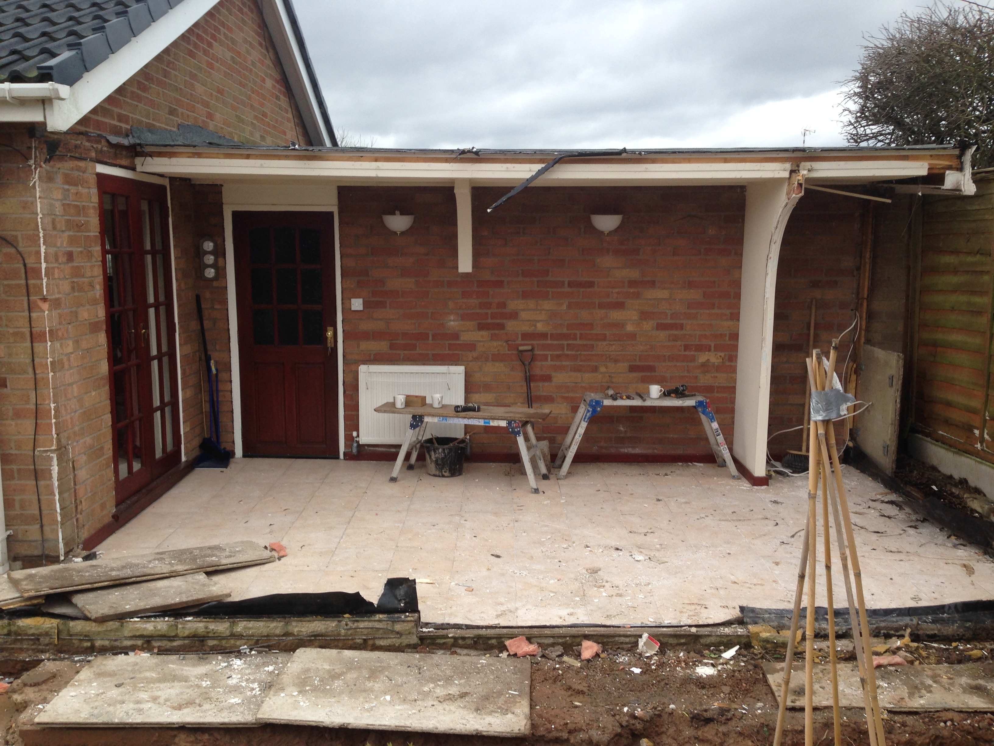 Converting An Old Conservatory Into A Modern Orangery