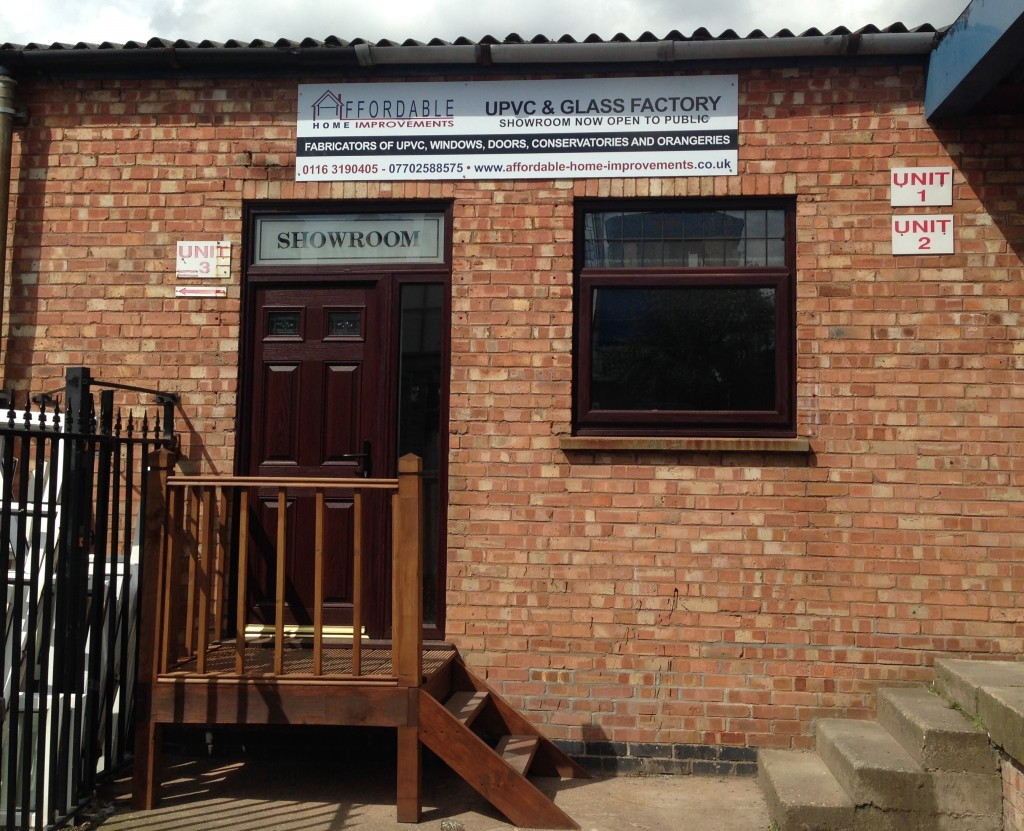 Double glazing leicester affordable home improvements for Window factory