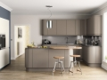 Lucente Brown-Grey Hand Painted Kitchen