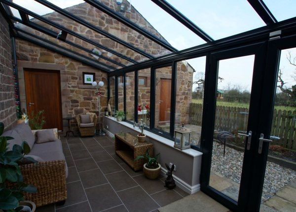 Black-lean-to 'conservatory leicester'