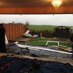4 pane patio door installation in fleckney leicester